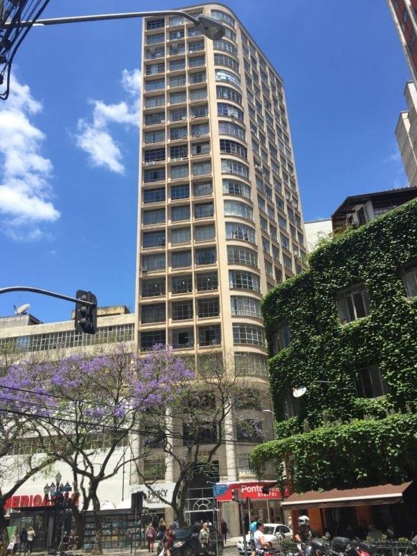 Bloco 1 do Edifício Tijucas em 2017.