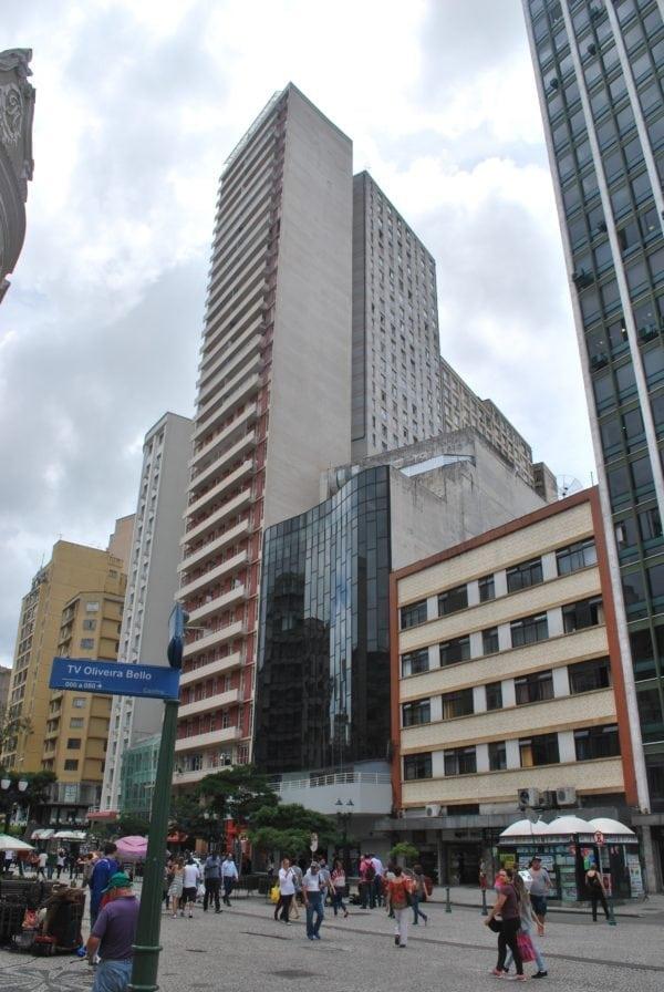 Bloco 2 do Edifício Tijucas em 2017.
