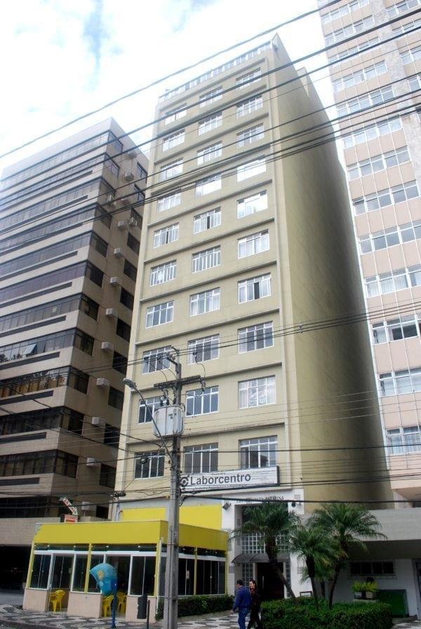 Edifício Santa Catarina em 2017.