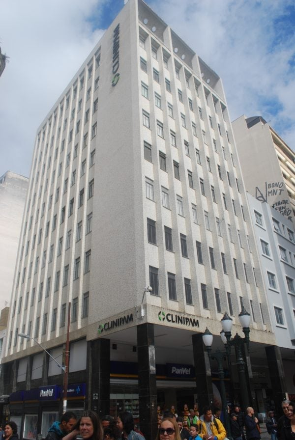 Edifício da Clinipam - Unidade Centro em 2017.