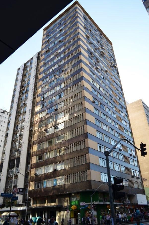 Edifício Marechal Deodoro em 2017.