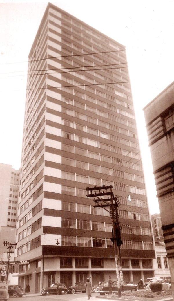 Edifício Marechal Deodoro na década de 1960.