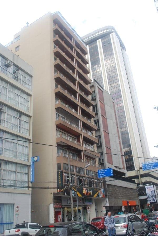Edifício Fidelis Reginato em 2017.