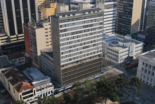 Edifício do INSS em 2016.