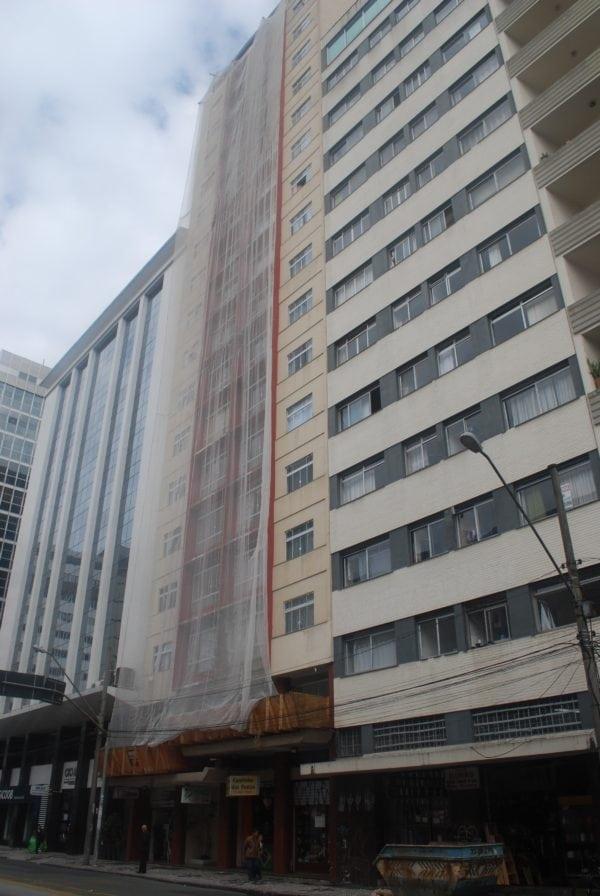 Edifício Dona Sinhá em 2017.