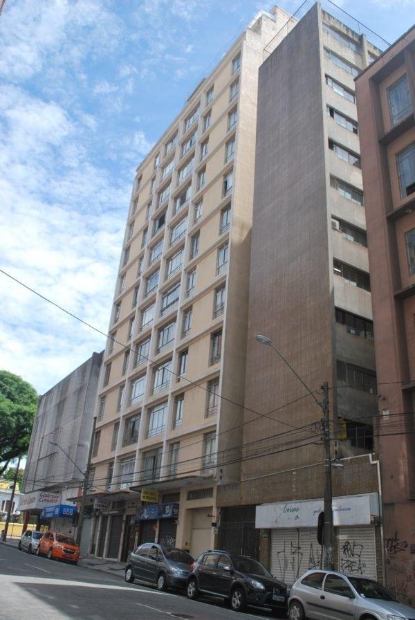 Edifício Garcez do Nascimento em 2017.