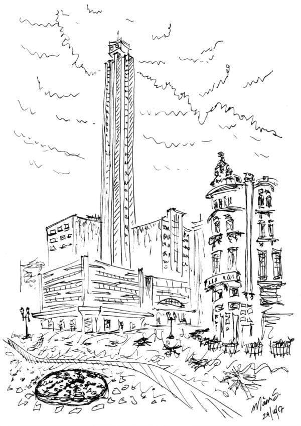 Croquis Urbanos - Mario Sergio Teixeira de Freitas