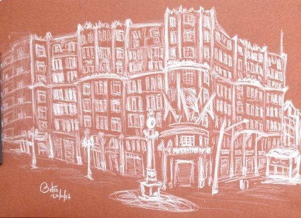 Croquis Urbanos - Roberto Nhiemetz