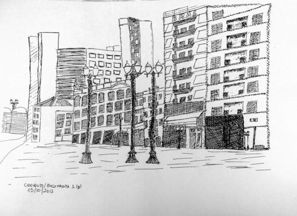 Croquis Urbanos - Ruy Tavares