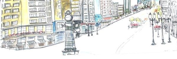 Croquis Urbanos - Sueli Machado Pereira