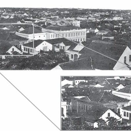 Curitiba em 1903.