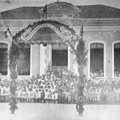 Grupo Escolar Izabel Branco em 1922.