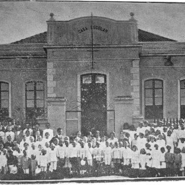 Grupo Escolar Presidente Pedrosa em 1924.