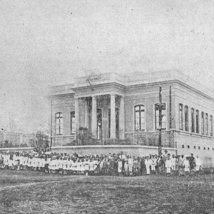 Grupo Escolar Rio Branco em 1917.