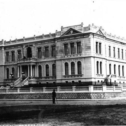 Escola Normal de Paranaguá na década de 1920.