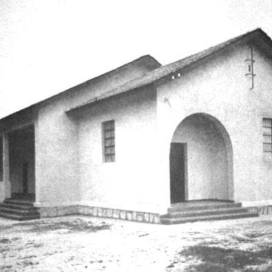 Grupo Escolar Rural de Afonso Pena em 1942.