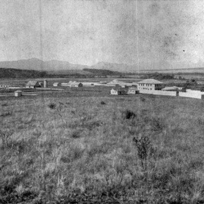 Granja do Canguiri, onde se localiza a Escola de Reforma, depois Escola de Trabalhadores Rurais, em 1933.