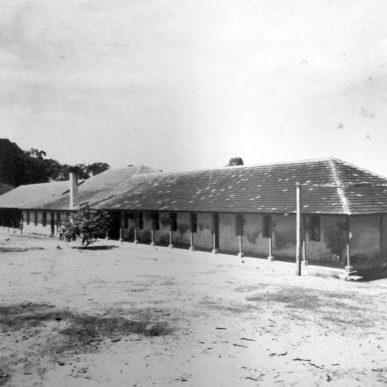 Escola de Pescadores Antonio Serafim Lopes em 1942.