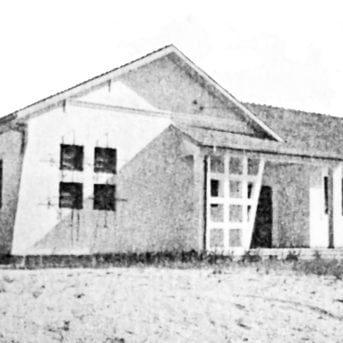 Grupo Escolar Barigüi do Seminário em 1953.