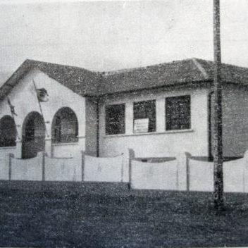 Grupo Escolar de Congonhinhas em 1950.