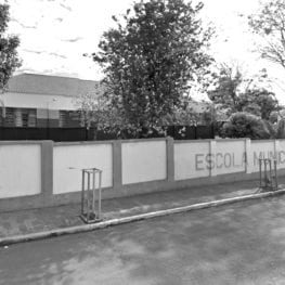Escola Municipal Infantil Carmela Dutra em 2015.