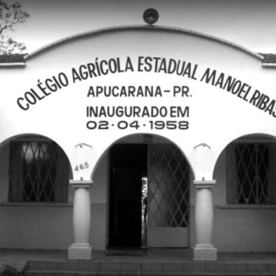 Colégio Agrícola Estadual Manoel Ribas em 2017.