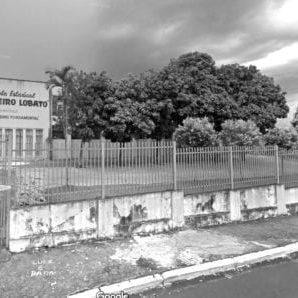 Escola Estadual Monteiro Lobato em 2015.