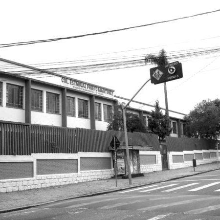 Colégio Estadual Pietro Martinez em 2008.