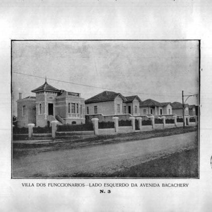 13 - Vila dos Funcionários: lado esquerdo da Avenida Bacacheri (1925/1926).