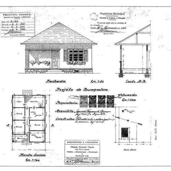 1–Projeto Arquitetônico.
