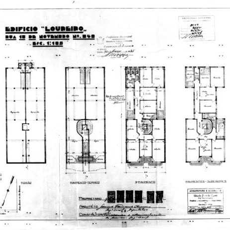 2 – Plantas dos pisos.