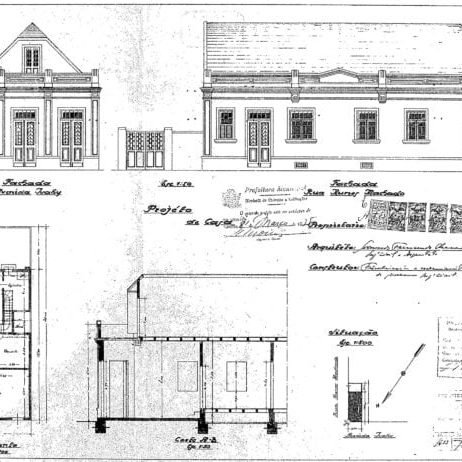 1 – Projeto Arquitetônico.