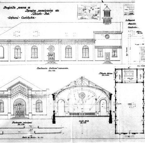 1 - Projeto Arquitetônico da igreja.