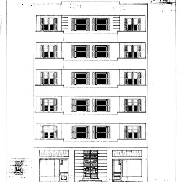 1 – Projeto Arquitetônico da fachada.
