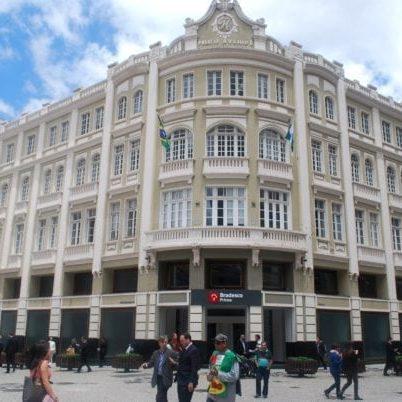 Palácio Avenida em 2017.