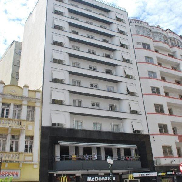 Edifício do Braz Hotel em 2017.