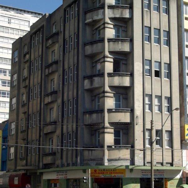 Edifício Tiradentes em 2017.