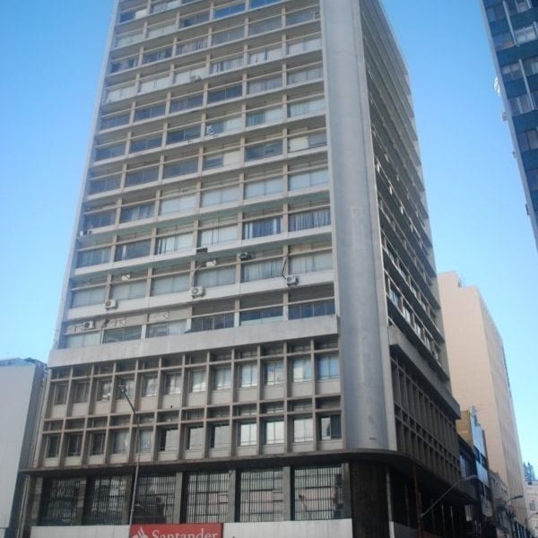 Edifício do antigo Banco Nacional do Comércio em 2017.