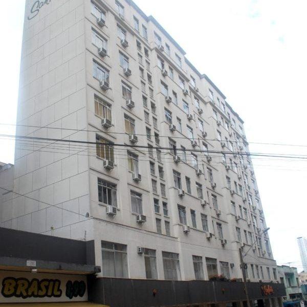 Edifício do Hotel San Martin em 2017.
