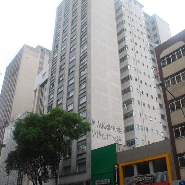 Edifício Taunay em 2017.