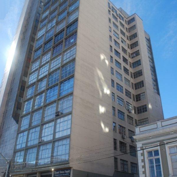 Edifício Affonso Camargo em 2017.
