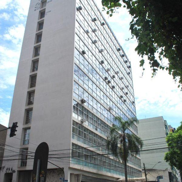 Edifício Souza Naves em 2017.