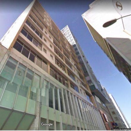 Edifício do antigo Banco da Província do Rio Grande do Sul em 2017.
