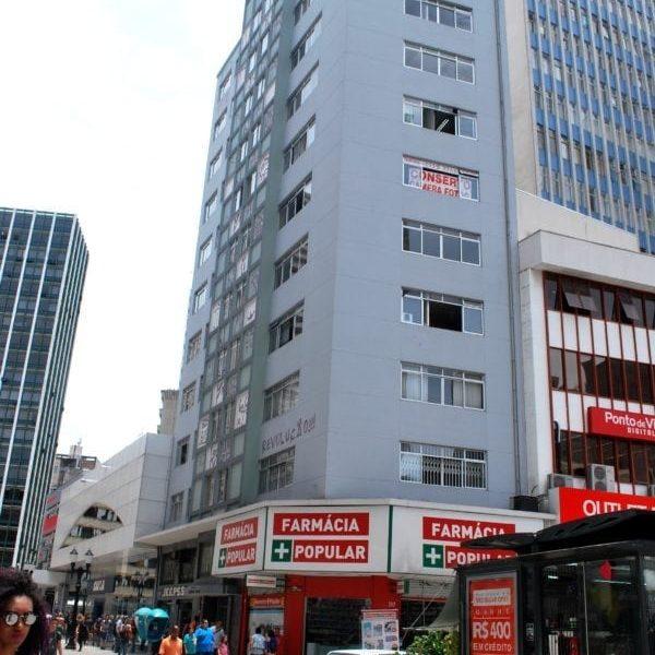 Edifício Guilherme Weiss em 2017.