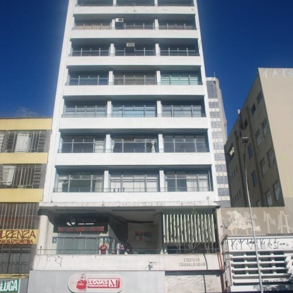 Edifício Trabalhador Eduardo Thá em 2017.