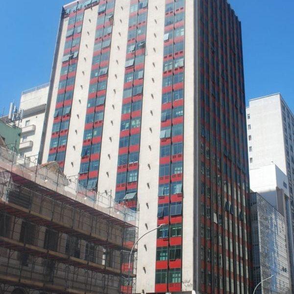 Edifício Barão do Rio Branco em 2017.