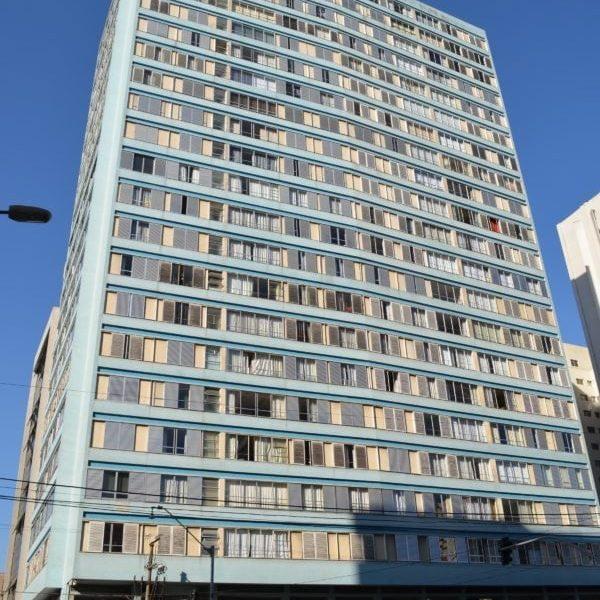 Edifício Alvorada em 2017.