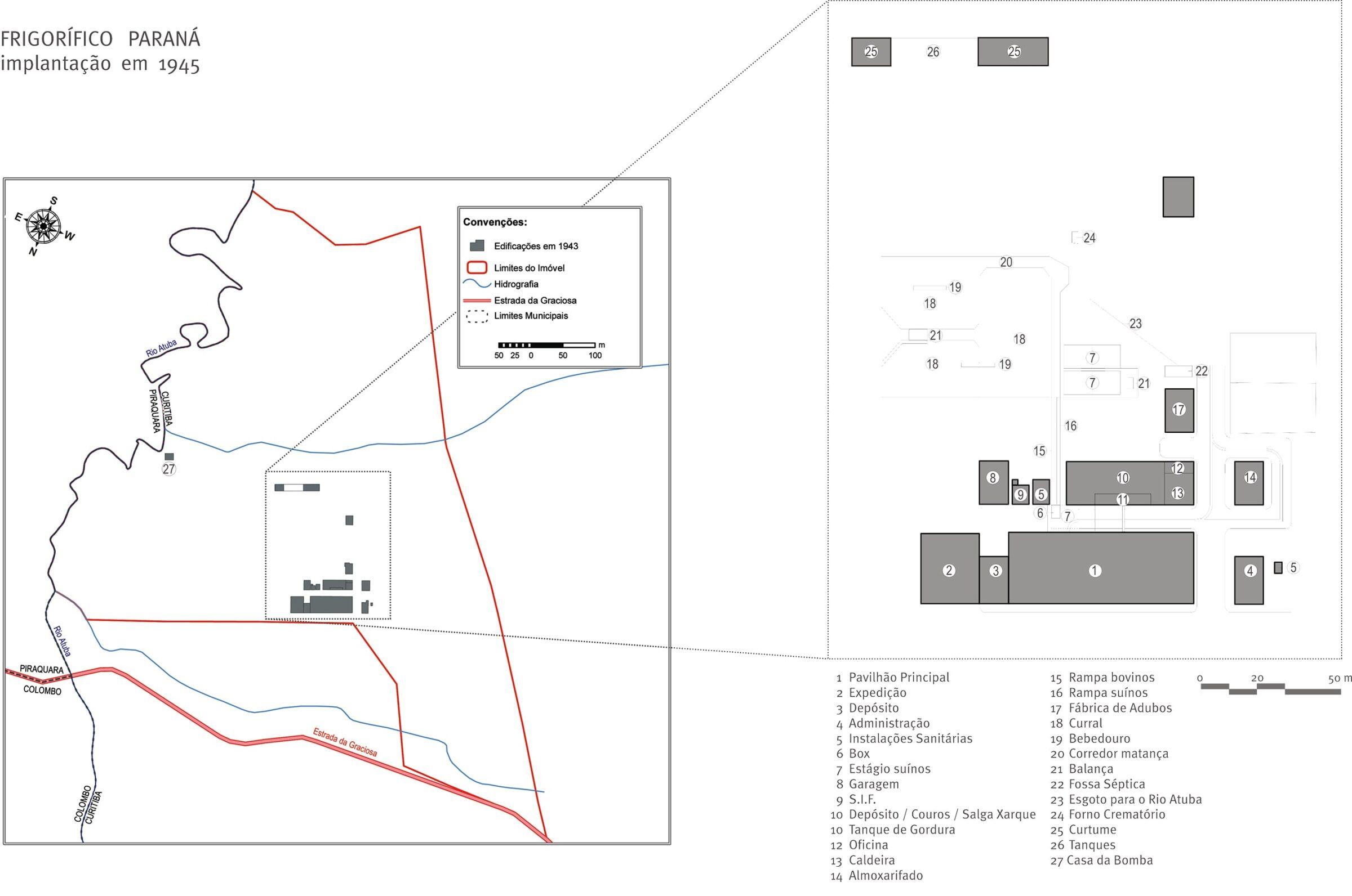 mapa conjunto arquitetonico 2